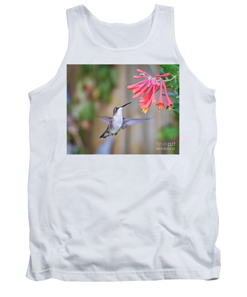 Hummingbird Happiness 2 Tank Top