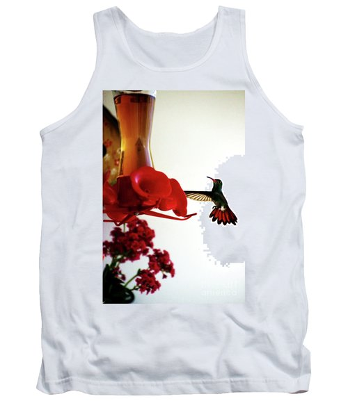 Hummingbird In Tulua, Colombia Tank Top by Al Bourassa