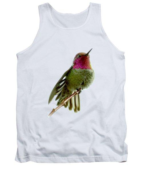 Hummingbird Portrait T1 Tank Top