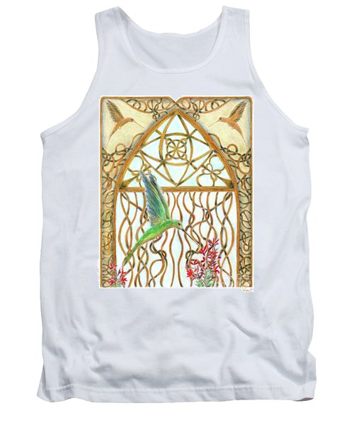 Hummingbird Sanctuary Tank Top