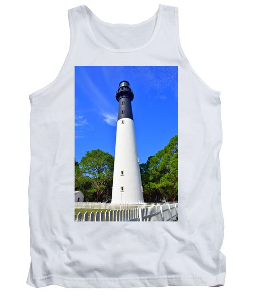 Hunting Island Lighthouse Beaufort Sc Tank Top
