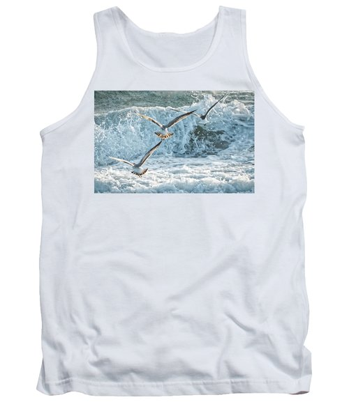 Hunting The Waves Tank Top