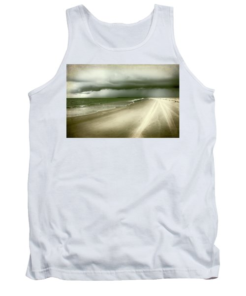 Hurricane Storm Ocracoke Island Outer Banks Tank Top