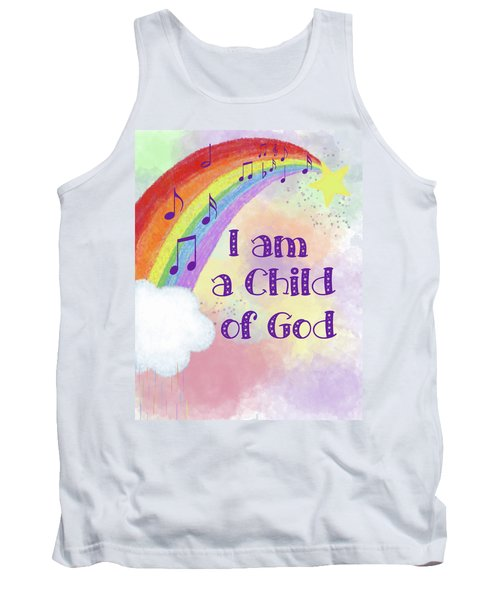I Am A Child Of God 2 Tank Top