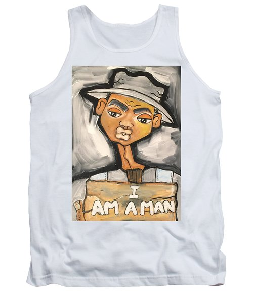I Am A Man Tank Top