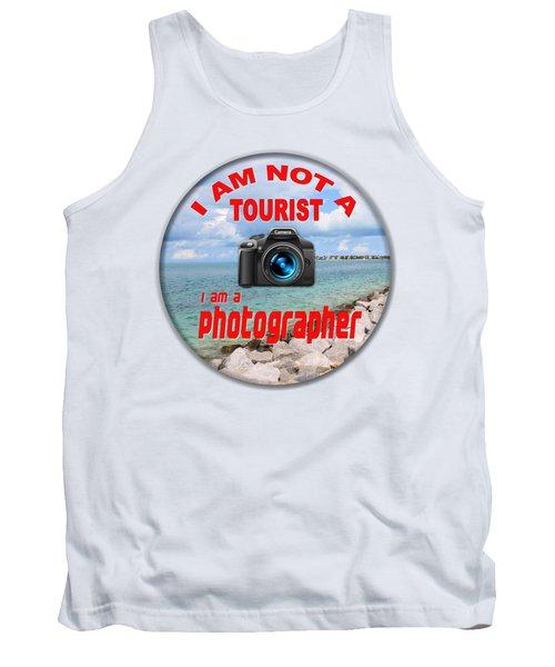 I Am Not A Tourist Tank Top