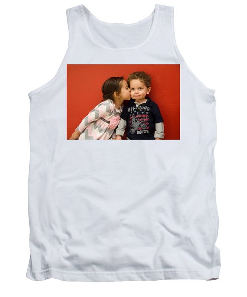 I Give You A Kiss Tank Top