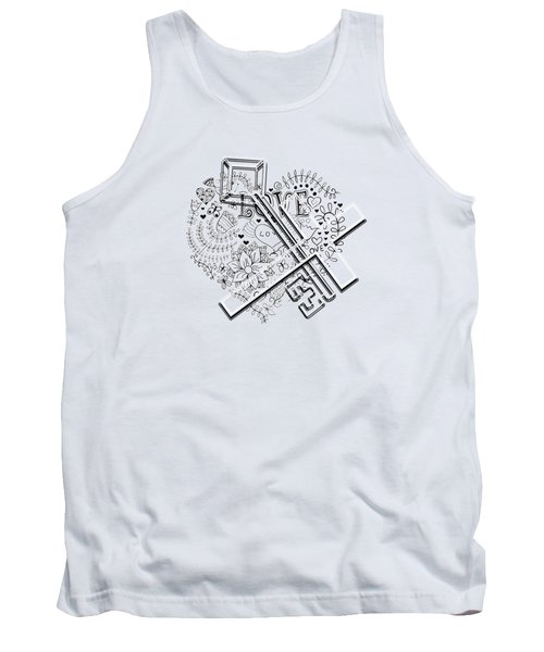 I Give You The Key Of My Heart Tank Top
