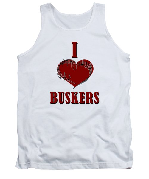 I Heart Buskers Tank Top