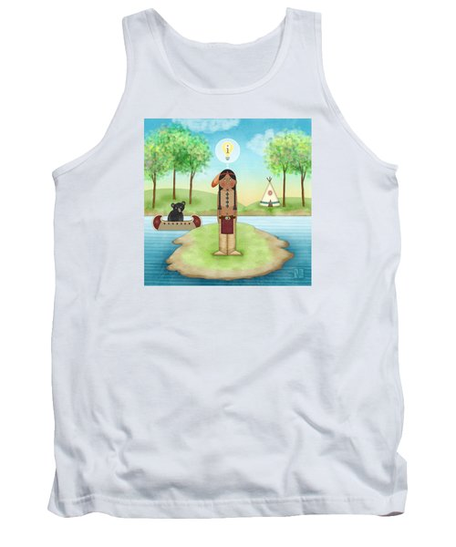 I Is For Indian Tank Top