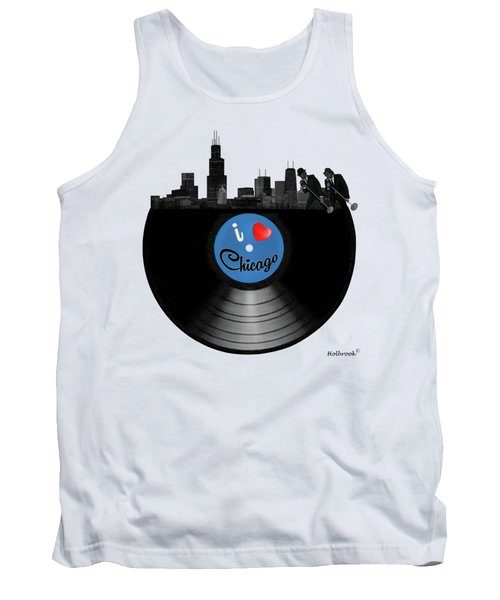 I Love Chicago Tank Top