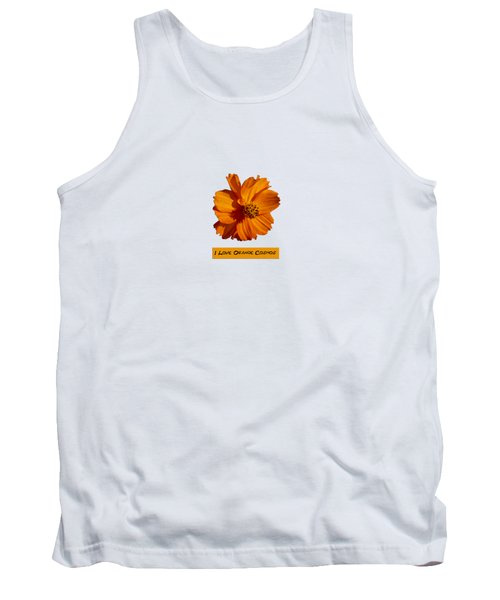I Love Orange Cosmos 2018-1 Tank Top