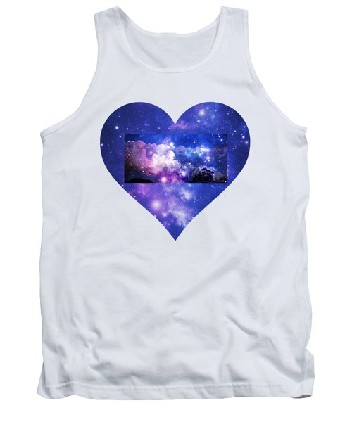 I Love The Night Sky Tank Top by Leanne Seymour