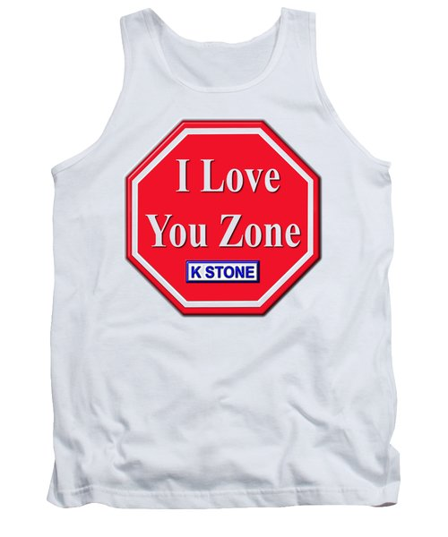 I Love You Zone Tank Top