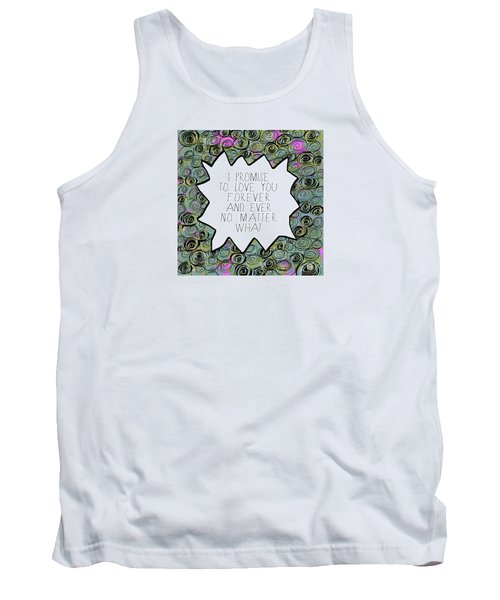 Tank Top featuring the painting I Promise by Lisa Weedn