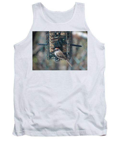 I Sing For My Supper Tank Top