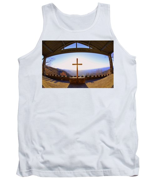 I Will Lift My Eyes To The Hills Psalm 121 1 Tank Top