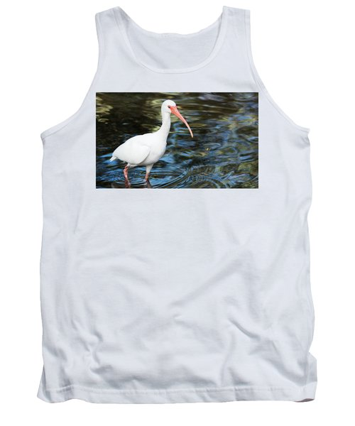 Ibis In The Swamp Tank Top by Kenneth Albin