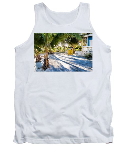 Ice Beans Tank Top by Lawrence Burry