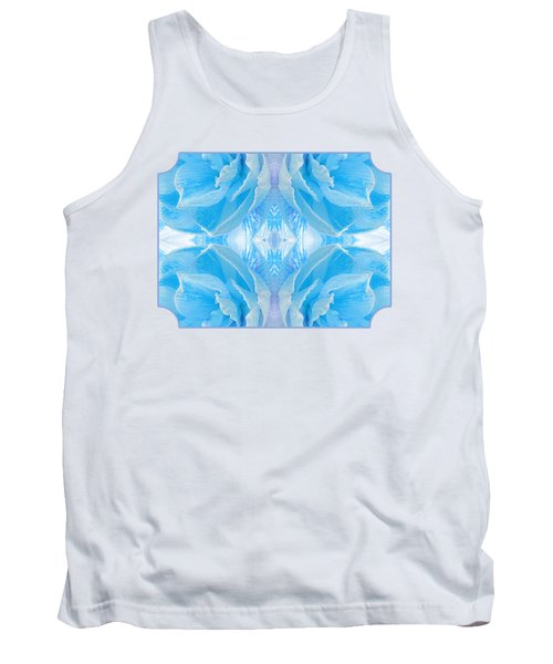 Ice Cool Blue Tank Top