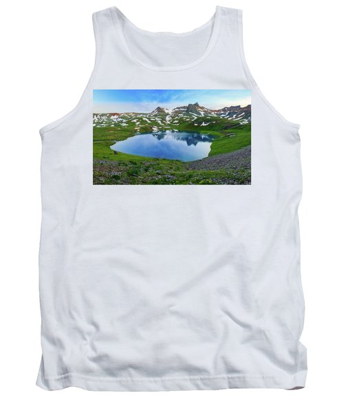 Ice Lake Panorama Tank Top