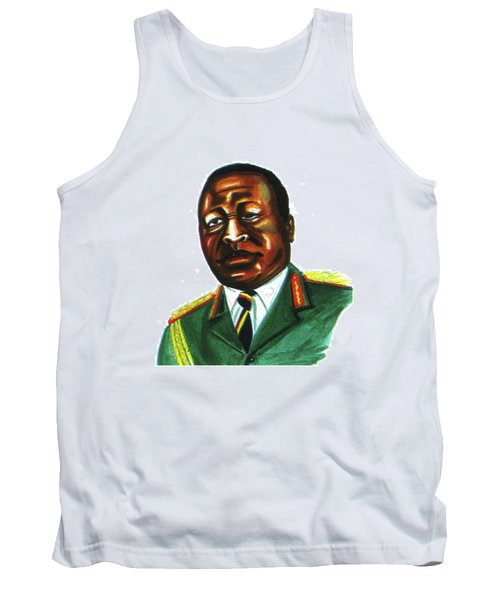 Idi Amin Dada Tank Top by Emmanuel Baliyanga