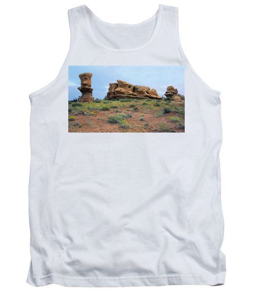 Idol Time Pano Version Tank Top