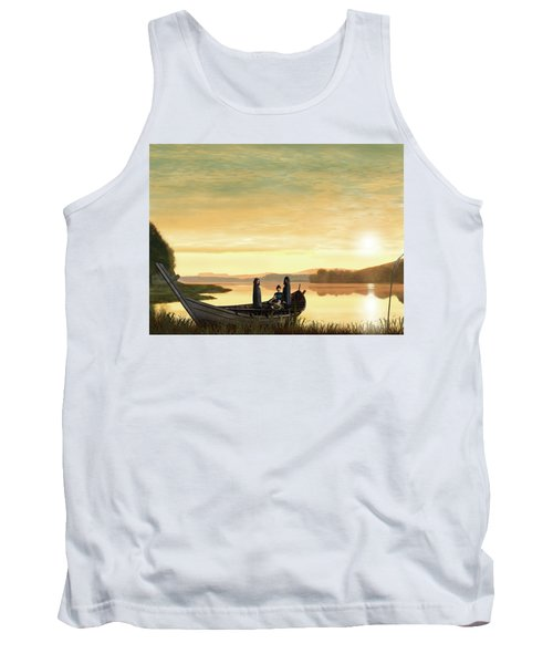 Idylls Of The King Tank Top