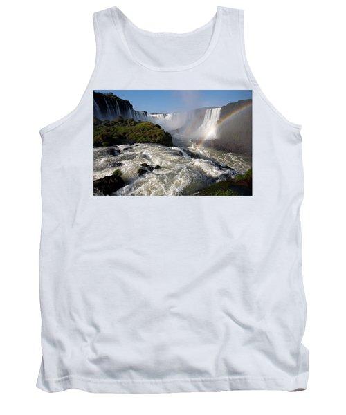 Iguassu Falls With Rainbow Tank Top