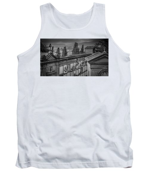 Tank Top featuring the photograph Il Cimitero E Il Duomo by Sonny Marcyan