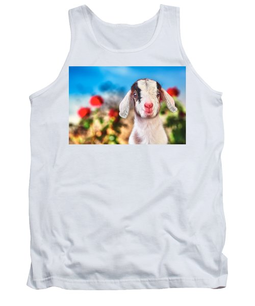I'm In The Rose Garden Tank Top by TC Morgan