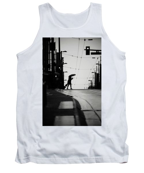 Tank Top featuring the photograph Im Leaving But Never  by Empty Wall