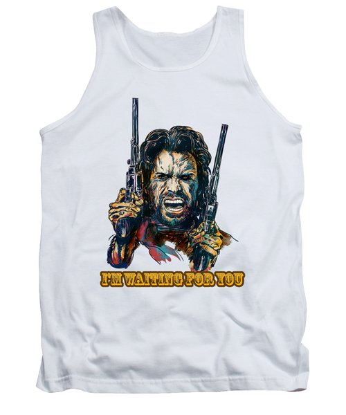 Tank Top featuring the painting I'm Waiting For You. by Andrzej Szczerski