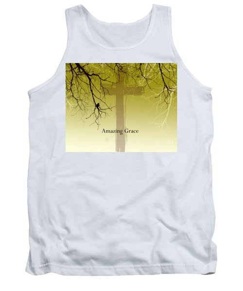 Immanuel- My Saviour Tank Top by Trilby Cole