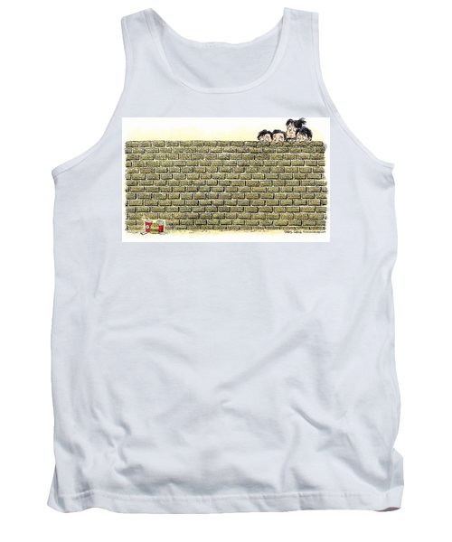 Immigrant Kids At The Border Tank Top