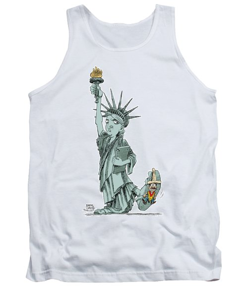 Immigration And Liberty Tank Top
