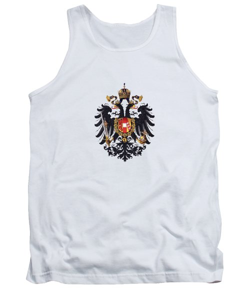 Imperial Coat Of Arms Of The Empire Of Austria-hungary 1815 Transparent Tank Top