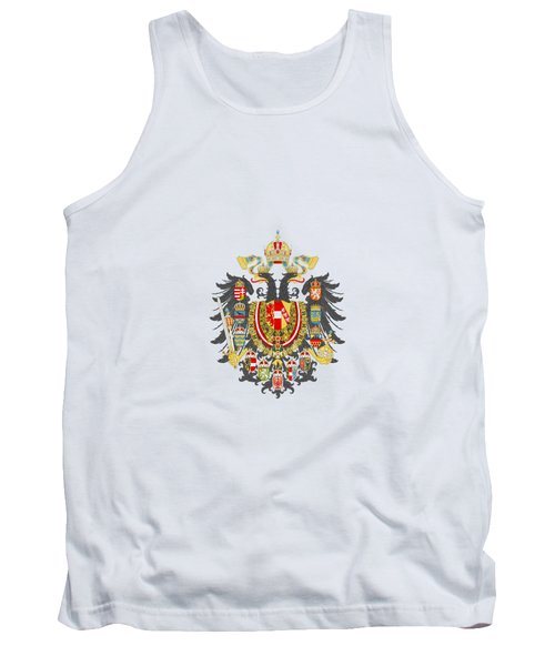 Imperial Coat Of Arms Of The Empire Of Austria-hungary Transparent Tank Top