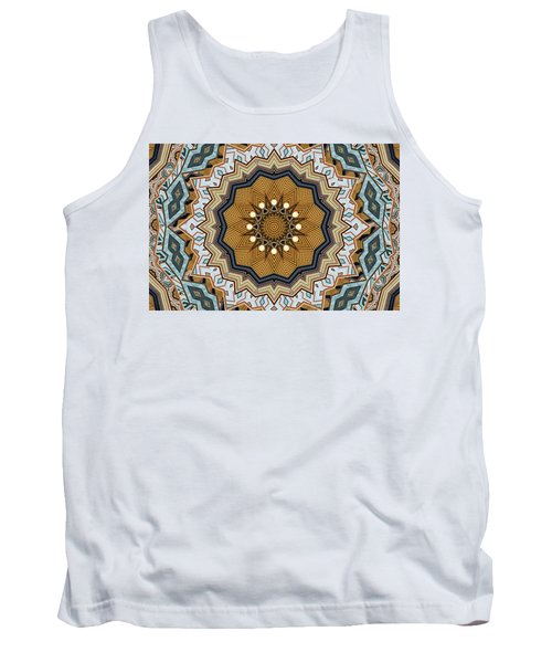 Tank Top featuring the digital art Impressions by Wendy J St Christopher