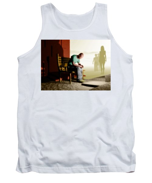 In A Fog Of Isolation Tank Top by John Alexander