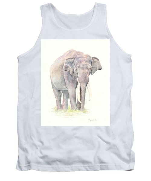 Tank Top featuring the painting In Charge by Elizabeth Lock