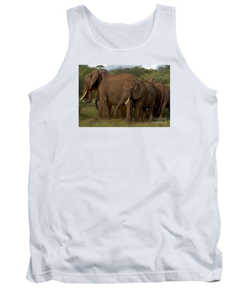 Tank Top featuring the photograph In Close For The Evening-signed by J L Woody Wooden