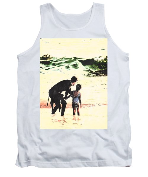In Daddy's Arms Tank Top