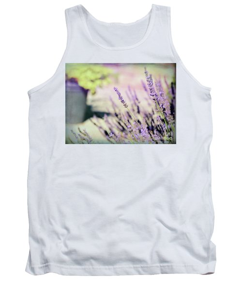 Tank Top featuring the photograph In Love With Lavender by Kerri Farley