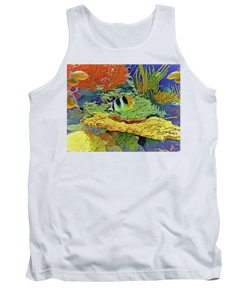 In The Coral Garden 10 Tank Top