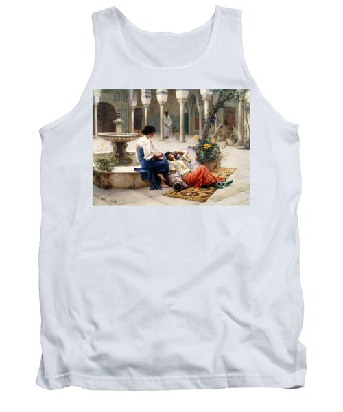 In The Courtyard Of The Harem Tank Top
