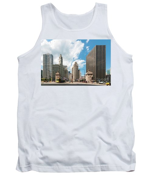 In The Middle Of Wacker And Michigan Tank Top