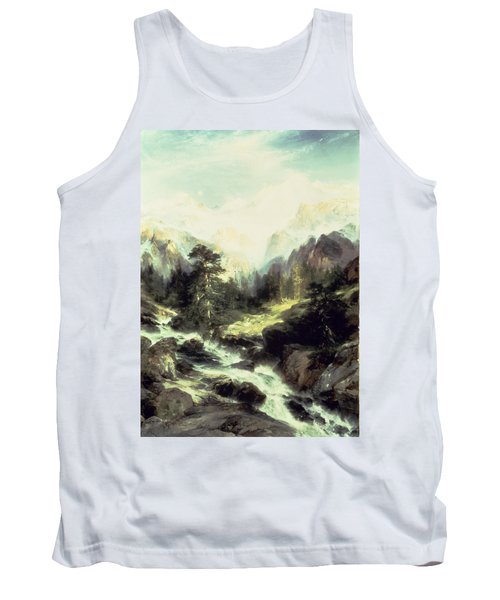 In The Teton Range Tank Top