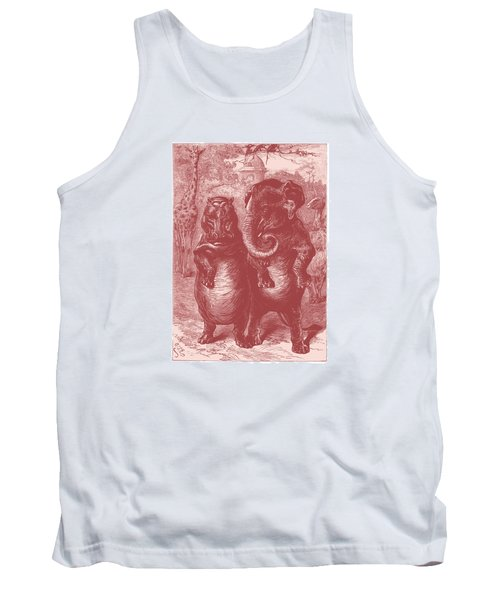 In The Zoo Tank Top by David Davies