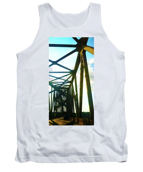 Tank Top featuring the photograph Indefinite Sight by Jamie Lynn
